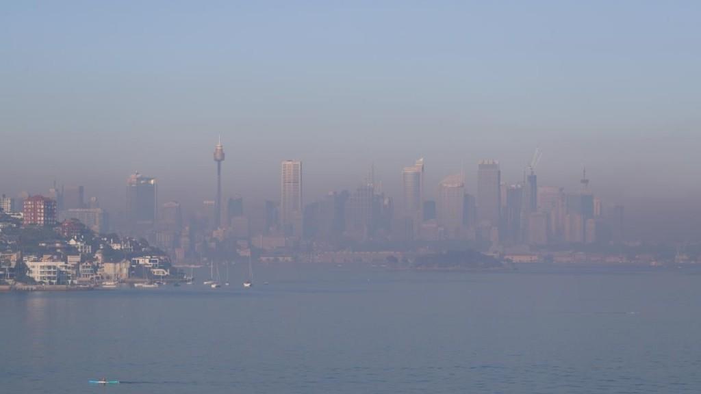 Image result for smoke in sydney